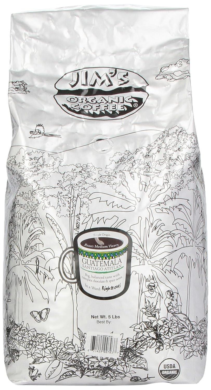 Jim's Organic Coffee Sale special price 5-Pound OFFicial mail order Guatemalan Atitlan