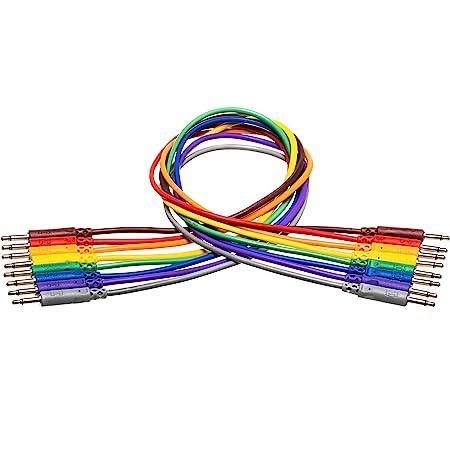 Hosa CMM-845 3,5 mm TS a 3,5 mm TS cables de conexión desequilibrados, 1,5 pies
