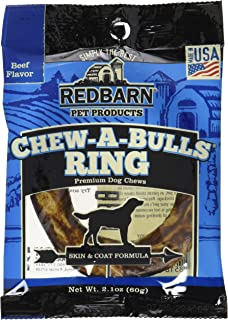 Red Barn Pet Products Chew-A-Bulls Ring Beef 20ct (20 x 1ct)