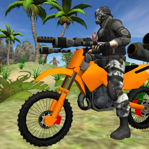 Motorbike Beach Fighter 3D - Motorcycle Shooter Game
