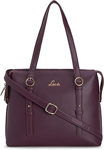 Oshiza Medium Dome Sat Women s Handbag Purple