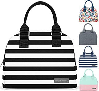 Simple Modern 5L Very Mia Lunch Bag for Women - Insulated Lunch Box Stripes: Tuxedo
