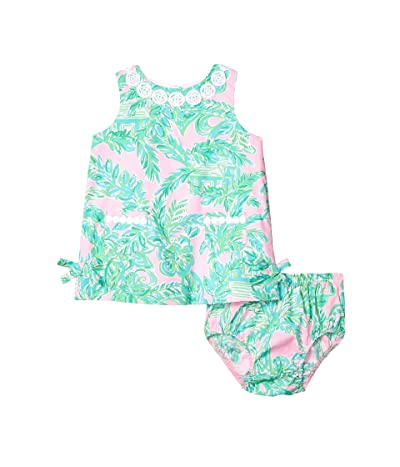 Lilly Pulitzer Kids Baby Lilly Shift Dress (Infant) (Mandevilla Baby Pink Sand Paradise) Girl