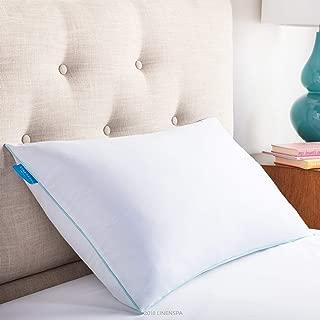 LinenSpa Shredded Memory Foam Pillow with Gel Memory Foam, King