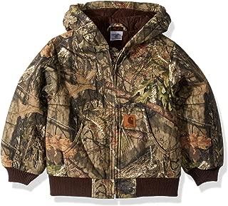 Boys' Big Mossy Oak Camo Active Jacket