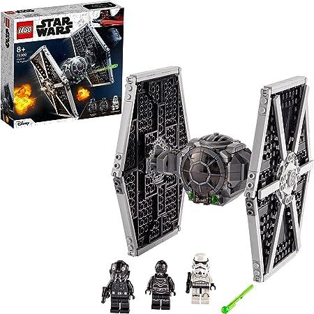 LEGO 75300 StarWars TIEFighterimpérial Jouet avec Stormtrooper et Figurines de la Saga Skywalker