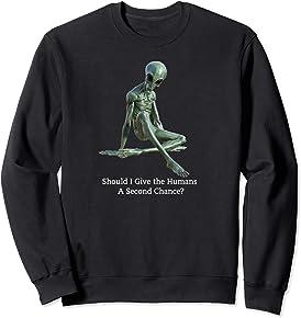Funny Alien Sweatshirt