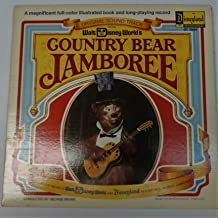 Original Soundtrack From Walt Disney World's Country Bear Jamboree With Attached Booklet