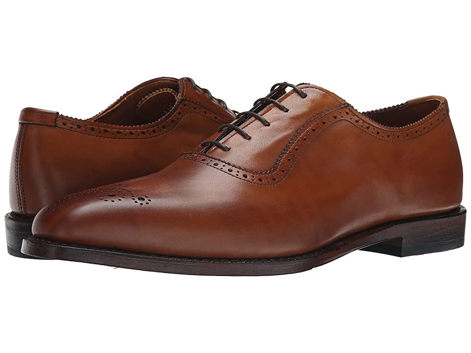 1940s Mens Shoes | Gangster, Spectator, Black and White Shoes Allen-Edmonds - Cornwallis Walnut Calf Mens Plain Toe Shoes $394.95 AT vintagedancer.com