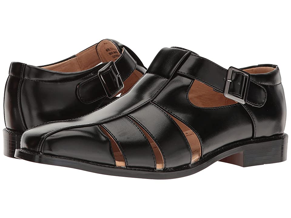 Mens Vintage Style Shoes| Retro Classic Shoes Stacy Adams Calisto Black Mens Shoes $60.00 AT vintagedancer.com