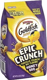 Pepperidge Farm Goldfish Epic Crunch Honey BBQ Crackers, 5.5 oz. Bag, 5.5 Ounce