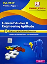 ESE 2017 Prelims Paper I General Studies And Engineering Aptitude and Reasoning