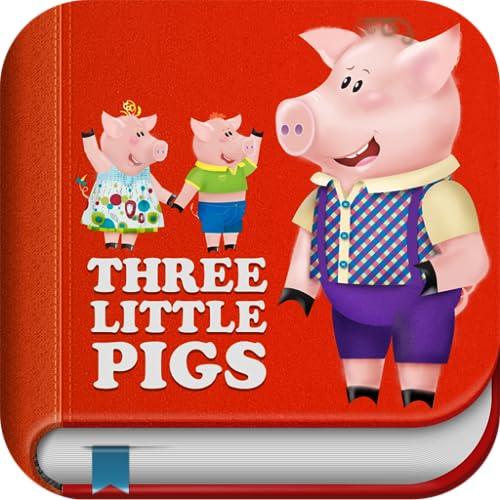 3 Little Piggies Lite - Interactive Story Book for Kids