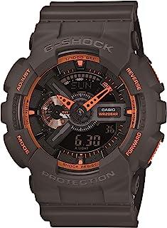 Men's GA-110TS-1A4 G-Shock Analog-Digital Watch With Grey...
