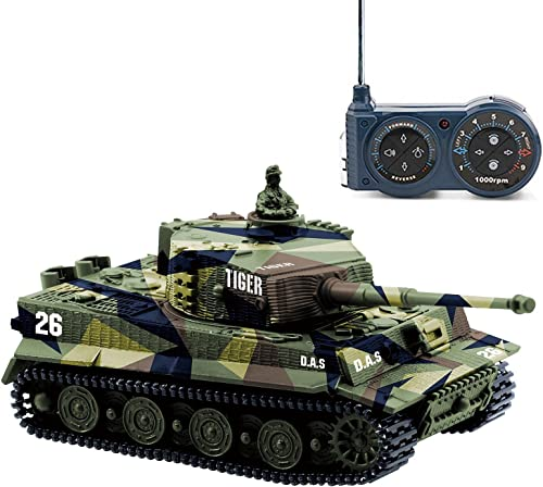 high quality Cheerwing sale 2021 1:72 German Tiger I Panzer Tank Remote Control Mini RC Tank with Rotating Turret and Sound sale