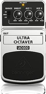 Behringer Ultra Octaver UO300 3-Mode Octave Instrument Effects Pedal