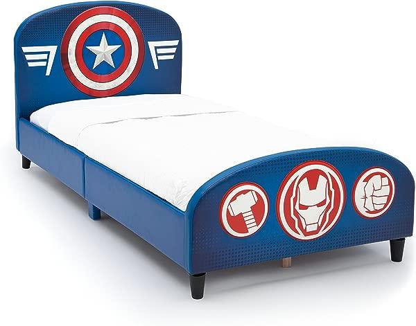 Delta Children Upholstered Twin Bed Marvel Avengers