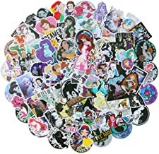 Beautiful Princess Laptop Stickers Various Waterproof Skateboard Car Snowboard Bicycle Luggage Decal 100pcs Best Gift for Daughter, Granddaughter, Niece, Female Friends (Beautiful Princess)