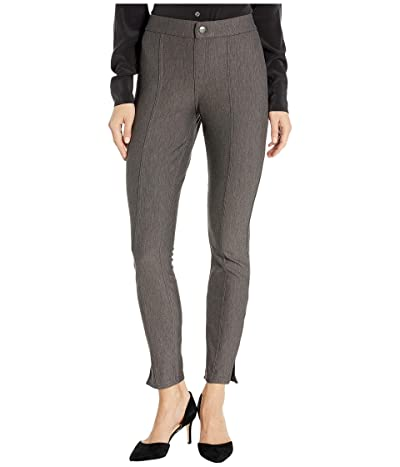 HUE Pintucked Tweed 7/8 Leggings (Mulch) Women
