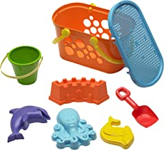 American Plastic Toys Beach Basket Set