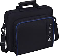 Travel Carrying Case PS4, Popmall Multifunctional Travel Storage Carry Case Protective Shoulder Bag PlayStation4 PS4 Slim System Console Accessories