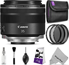 Canon RF 35mm f/1.8 is Macro STM Lens with Altura Photo Essential Accessory Bundle