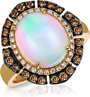 levian strawberry gold ring