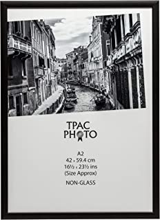 The Photo Album Company 42 x 59 cm A2 Photo Frame - Matt/Wood Black