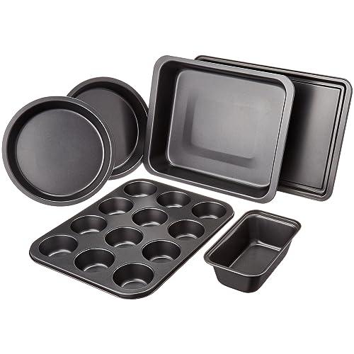 Amazon Basics 6-Piece Bakeware Set