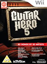 Guitar Hero 5 - Game Only (Wii) [Importación inglesa]