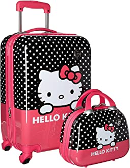 "Heys America Hello Kitty 21"" Spinner & Beauty Case"