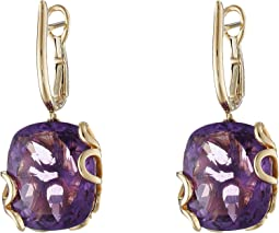 Miseno - Sea Leaf Amethyst Earrings
