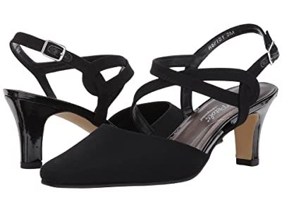 Walking Cradles Rosie (Black Micro) High Heels