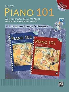 Alfred's Piano 101 Teacher's Handbook, Bk 1