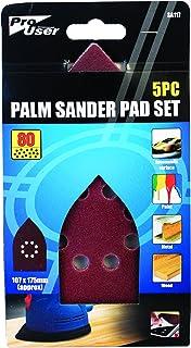 pro user BB-SA117 5 st set med palmslipmaskin, lila
