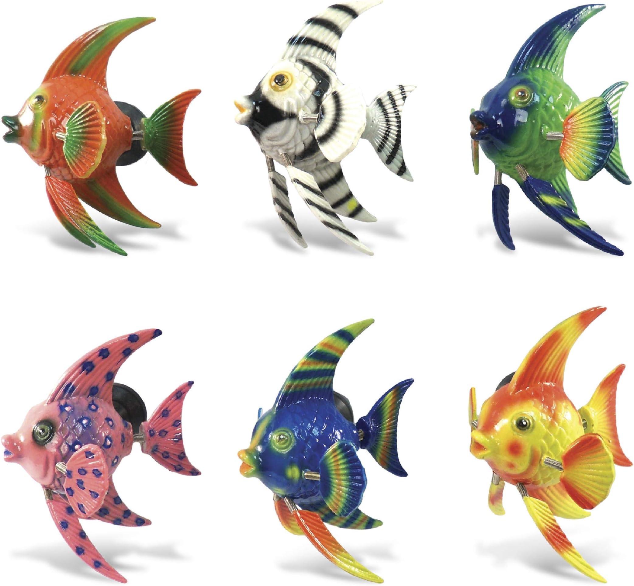 Ocean Refrigerator Magnets 14 Sea Life Fish Seahorses Jellyfish Seaweed Starfish Fridge Magnet Set 2