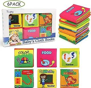 NEWSTYLE Libros Blandos para Bebé,Libro de Cognición del