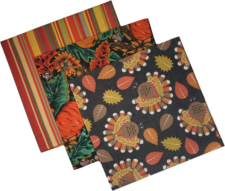 pumpkin Thanksgiving Autumn Harvest Dog Bandana Fall sunflower Halloween crow