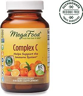 MegaFood, Complex C, Supports a Healthy Immune System, Antioxidant Vitamin C Supplement, Glyphosate Free, Gluten Free, Vegan, 60 Tablets (60 Servings) (FFP)