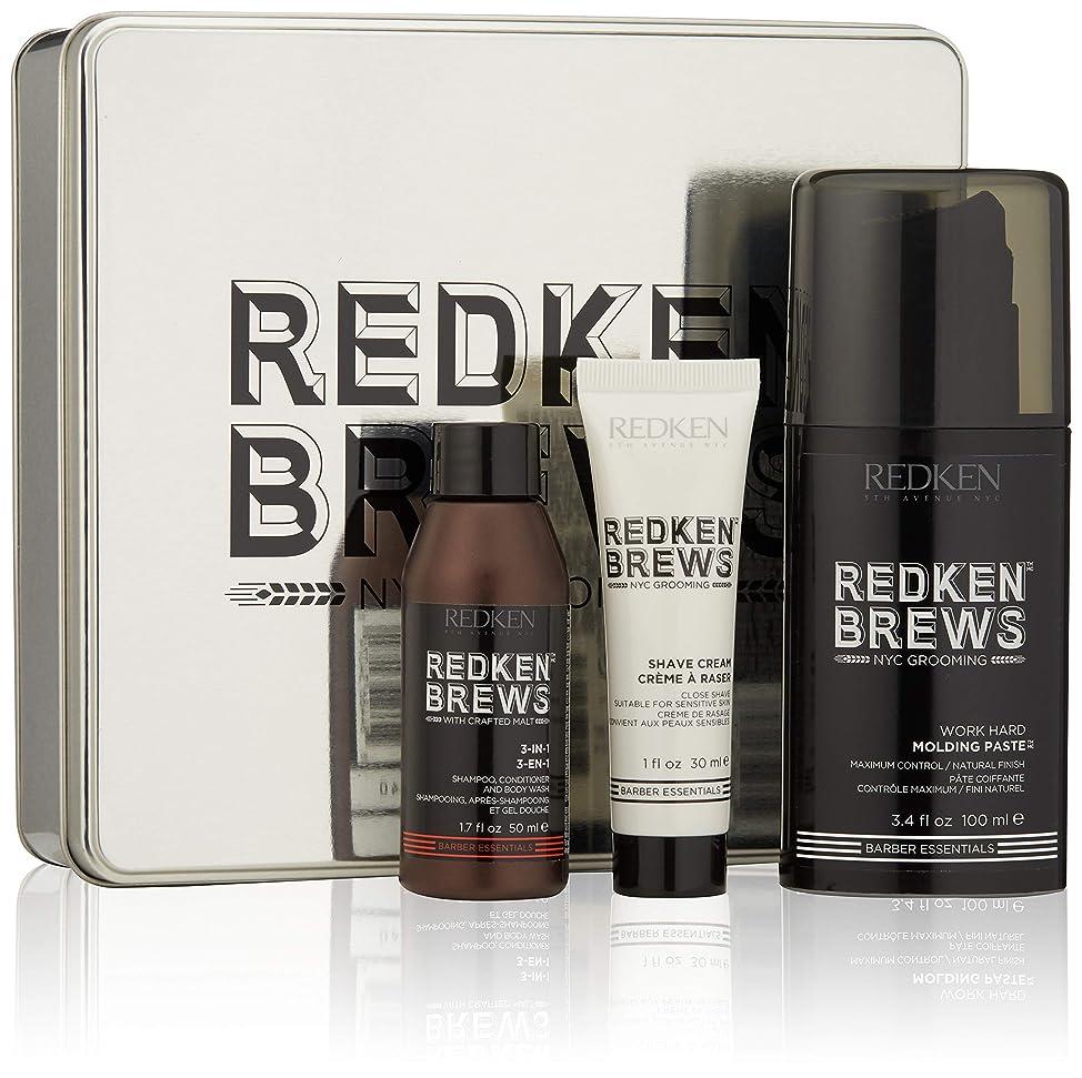 Redken Brews Rough It Up Texture Finish Grooming Kit