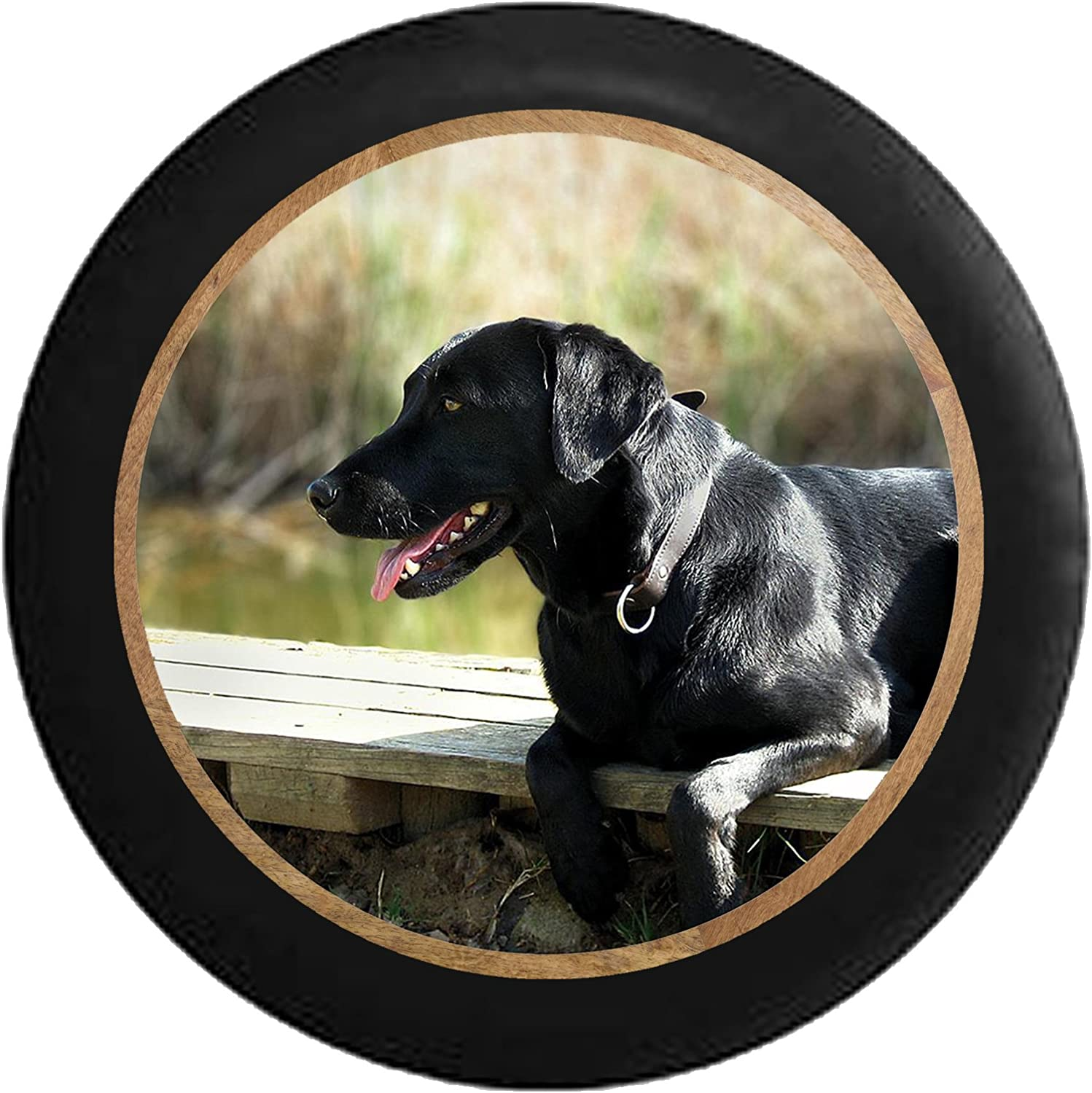 Pike Outdoors Full Color Black Lab on low-pricing Retriever 5 ☆ popular Hunting Dog The