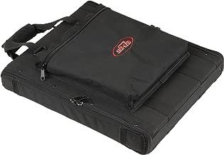SKB 1U Soft Rack Case, Steel Rails, Heavy Duty zippers, outer pocket, Shoulder straps