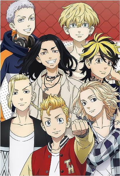 Amazon.com: Hanagaki Tokyo Revengers Takemichi and Team Toman Funny Poster  24 inch x 36 inch: Posters & Prints