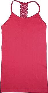 Seamless Lace T Strap Cami