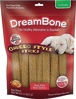 DreamBone Churro Style Sticks Chicken Rawhide Free - 10.99