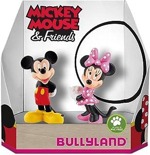 a786c6dbc297f Bully Land 15083 – Disney Mickey et Minnie Classic dans boîte cadeau Jeu  Figurine Lot de