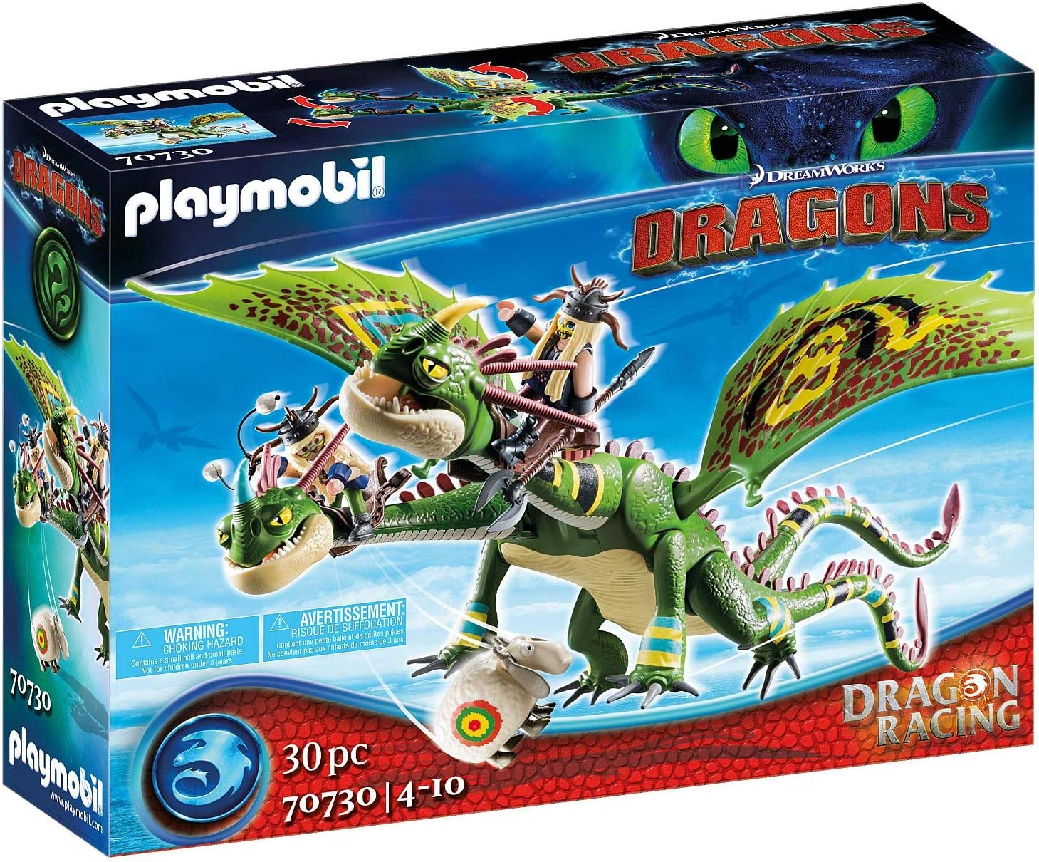 Playmobil Dragon Racing: Max 80% OFF Discount mail order Ruffnut and Tuffnut with Belch Barf