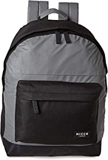 Nicce CURTIS001 Core Casual Backpack for Men - Grey/Black