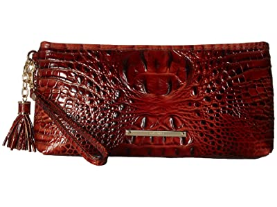 Brahmin Melbourne Kayla Bag (Pecan) Handbags