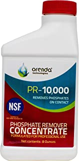 Orenda PR-10000 Removes Phosphates On Contact, Pool and Spa Phosphate Remover Concentrate, 1/2 Pint